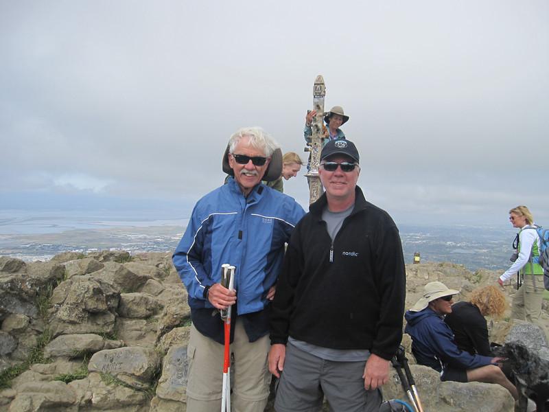 Loel with Dad On Mission Peak 5:7:2011 B .JPG