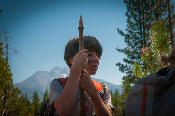 6th Grade class trip to the Headwaters Outdoor School at Mt. Shasta.
