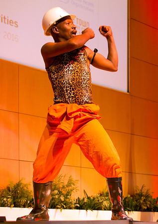 ICDRA (CTICC) Cultural event