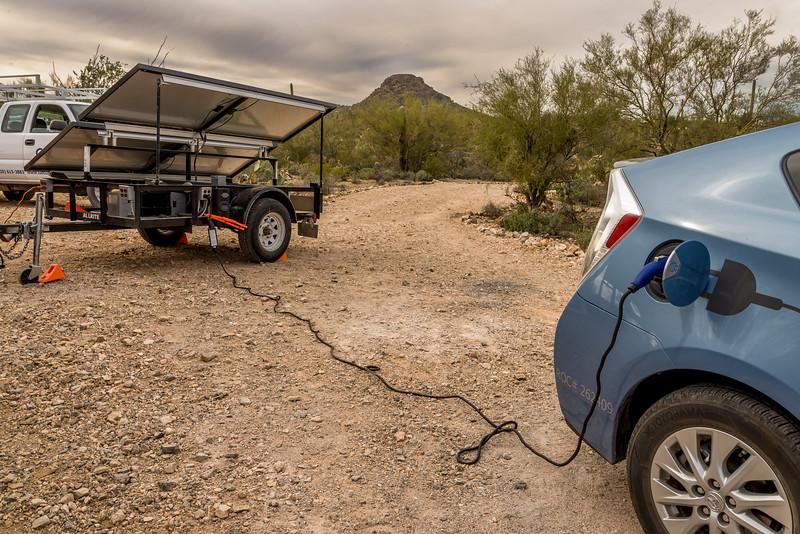 Charging the Prius #1