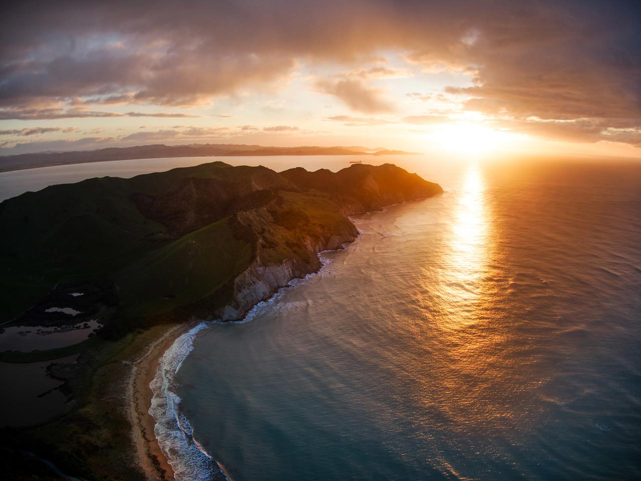 New Zealand North Island Coastline
