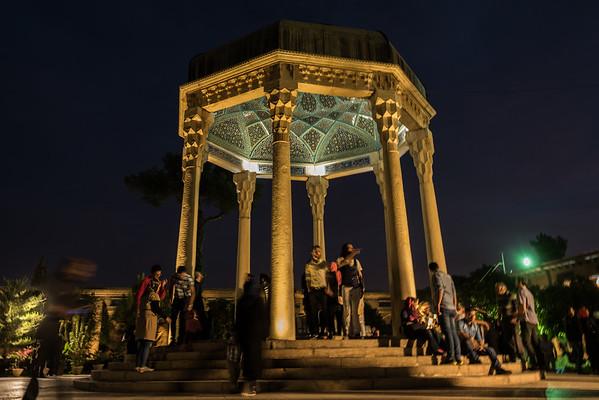 Hafez' grav i Shiraz