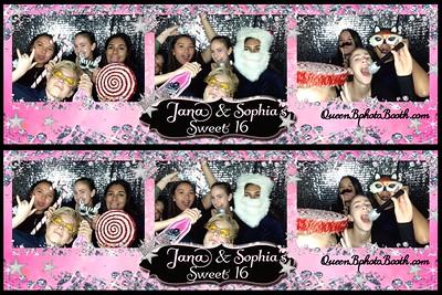 Jana & Sophia's Sweet 16