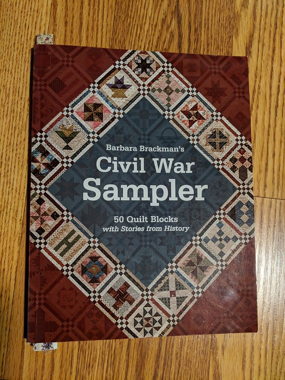 Barbara Brackman's Civil War Sampler book