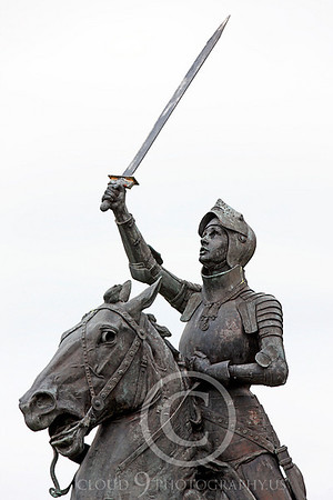 Joan of Arc Statuary Pictures [1412-1431]: French Peasant Who Became a National Heroine and Saint Who the English Burned at the Stake as a Heretic