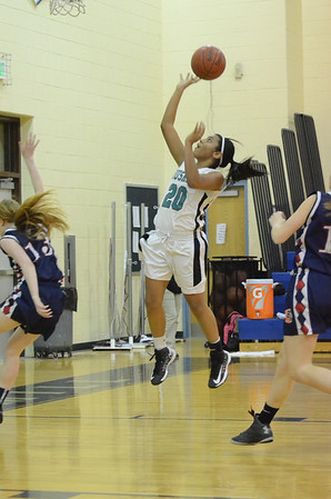 Girls Varsity Basketball Feb 11 vs Bel Air