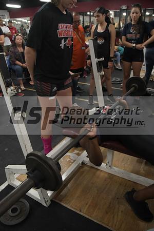 Girls Weightlifting VS St Cloud 11-14-18