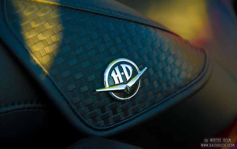 Harley Logo  Photography by Wayne Heim
