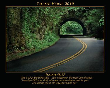 Theme Verse 2010