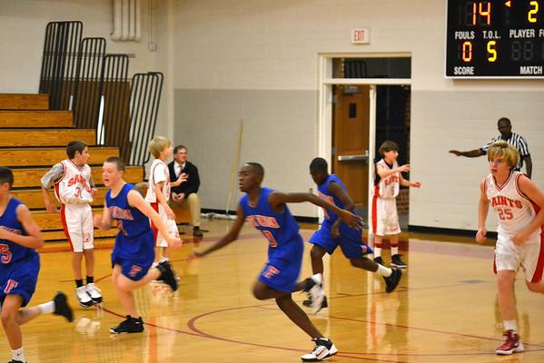 Middle School Basketball vs. St. Christopher's