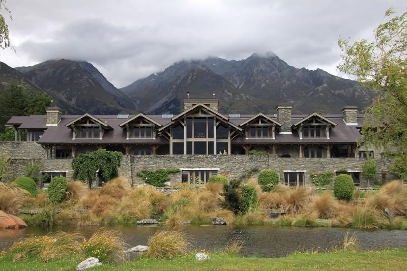 Blanket Bay Lodge, outside of Queenstown