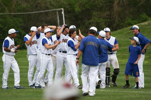 140421 Varsity Baseball v Lutheran North  MICDS