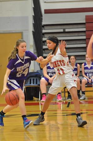 GJV Basketball vs WHS 12-2-16