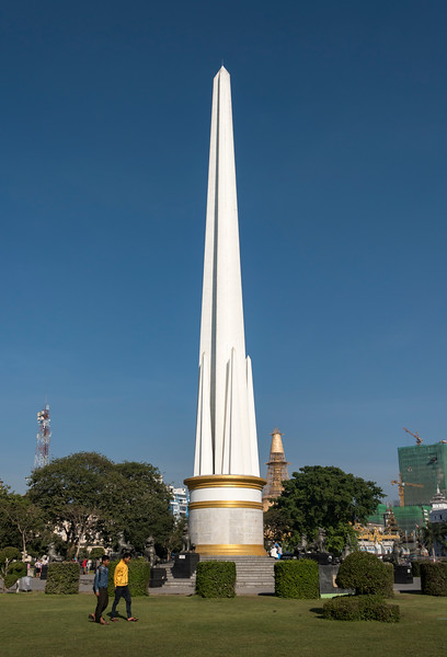National Independence Monument in Maha Bandula Park in downtown Yangon (Rangoon), Burma (Myanmar)