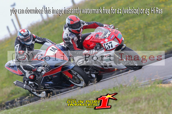 POWERBIKES & G-ERA SUPERBIKE RACES 3 & 10 WIRRAL 100 ANGLESEY JUNE 2016