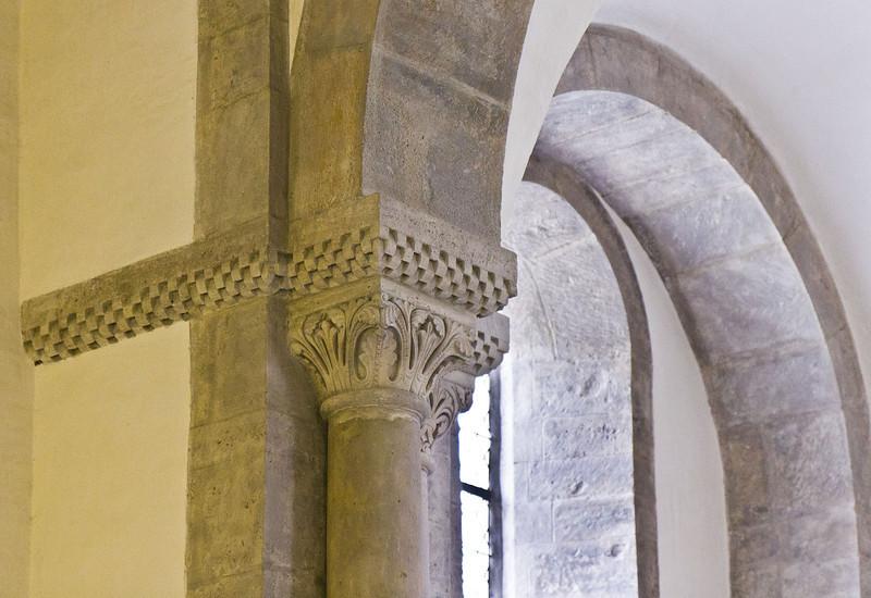 Freyburg, Schloss Neuenburg. Untere Burgkapelle, Kapitell