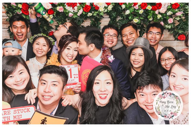 Wedding of Pang Boon & Hui Ling | © www.SRSLYPhotobooth.sg