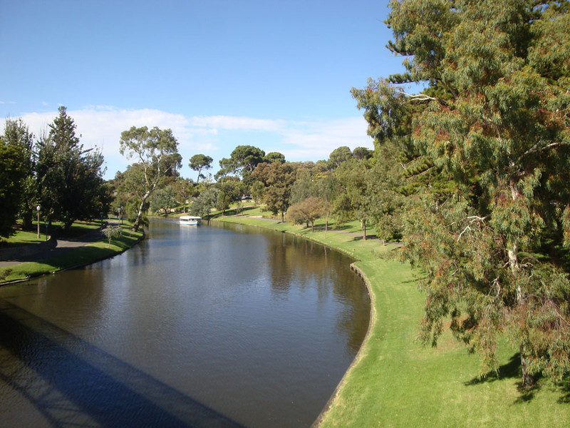Adelaide was built on the banks of the River Torrens