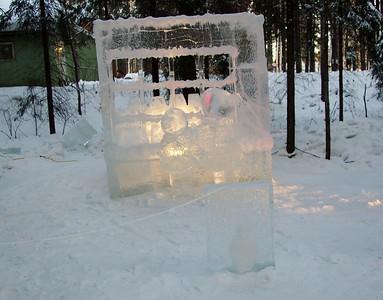 Fairbanks Ice Sculture