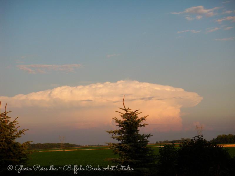 Anvil Cloud at Sunset