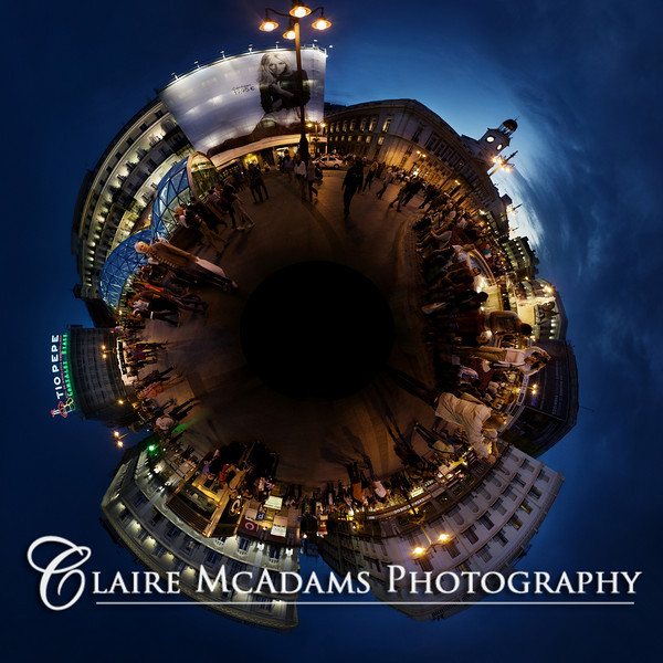 Madrid, Spain: Plaza del Sol 360 degree panoramic<br /> <br /> © Claire McAdams Photography 2010
