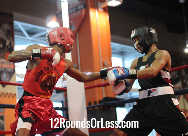 Jeremy Abrams (Kings Gym) vs Christopher Butler (Thelma George/Empire Rec.)  132 Pound Division  Bout # 3