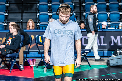 133 - Sykora def Turner - Semifinals - 2020 Southern Scuffle