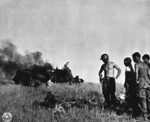 Another photograph taken during the invasion of Sicily.
