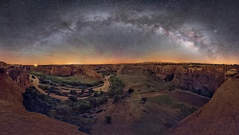 Canyon de Chelly Panorama   (2)