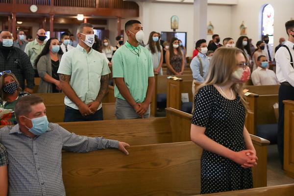 Sacred Heart Parish Confirmations 6-13-2020