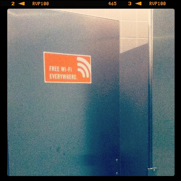 Do we really need wifi when peeing?