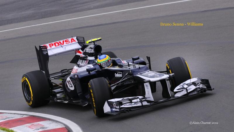 Bruno Senna, Montreal, 2012