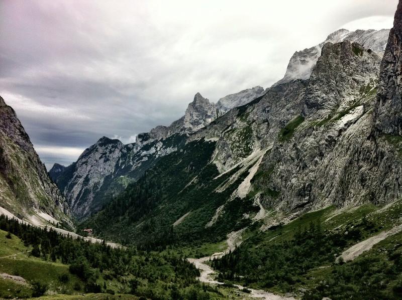 Höllental (iPhone 4, Camera+ app, Clarity filter)