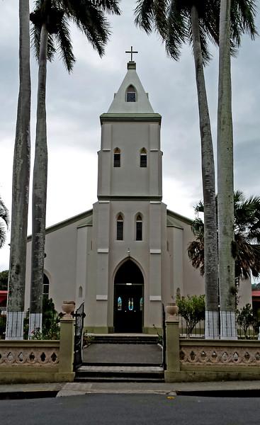 Parroquia San Rafael Arcángel Atenas or Central Catholic Church