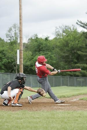 OHS Varsity Baseball Game Action 05292015