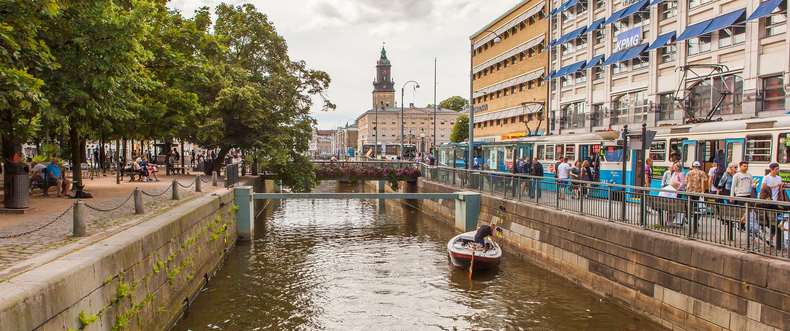 瑞典哥德堡,街头杂景