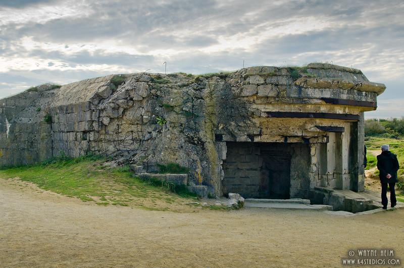 Normandy Bunker 5    Photography by Wayne Heim