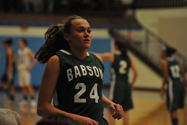 BABSON WOMEN   BASKETBALL IN NCAA PLAY  3.2.2013