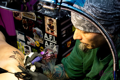 Crazzy's House of Tattoos ~ Keith Lynn