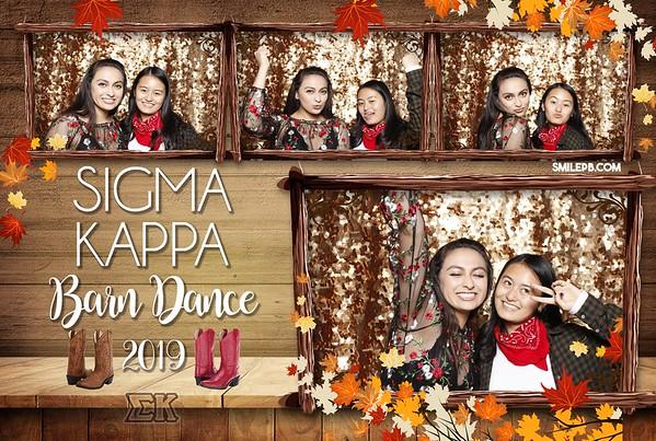 Sigma Kappa Barn Dance 2019