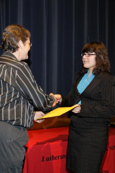 Awards Night 2012 - Student of the Year: Algebra 1
