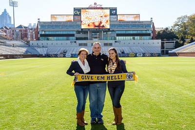 Holiday Photo on Grant Field