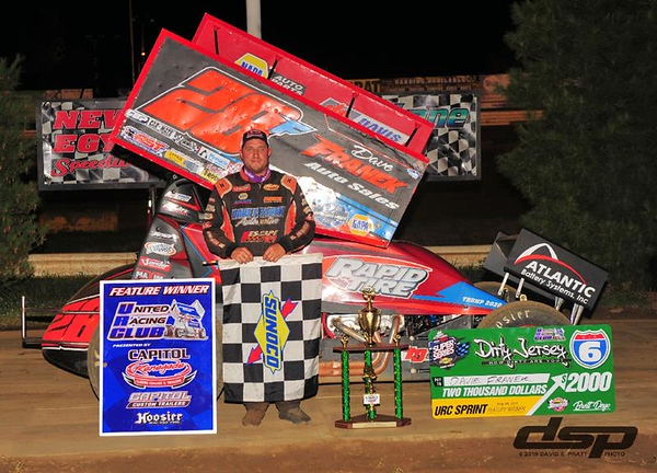 Franek Returns to New Egypt Speedway, Lands in Victory Lane