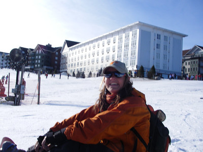 First Snowboarding Attempt - Snowshoe, WV - December 16-17, 2006