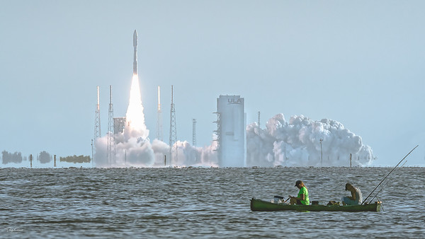 Mars Perseverance Aboard an ULA Atlas V