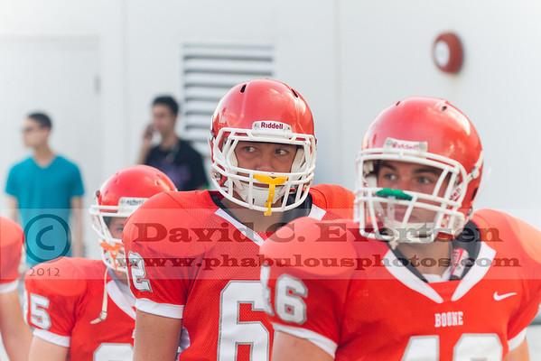 Boone Varsity Football #62 - 2012