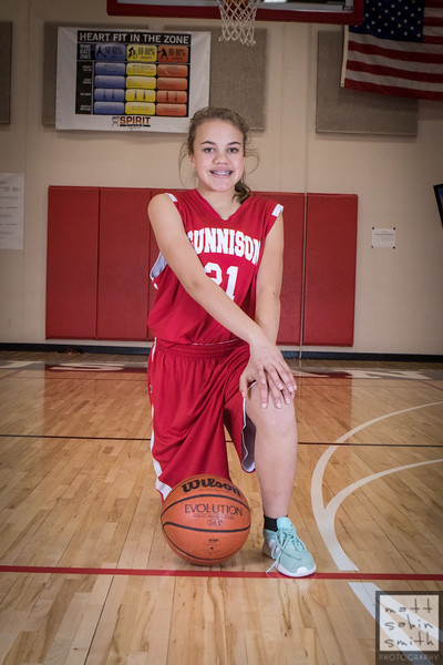 GMS Girls 7th Grade Basketball (2018)