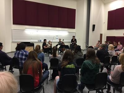 Jefferson High School Orchestra outreach