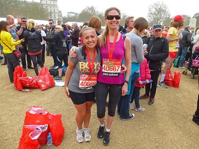 London Marathon April 2013