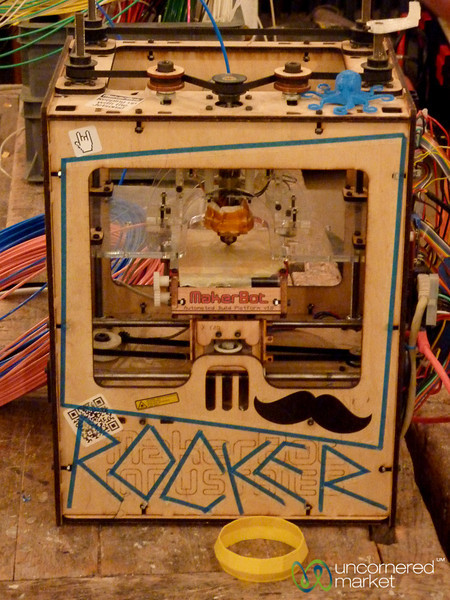 3-D Printer at Betahaus - Berlin